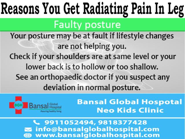 Health Radiating Pain