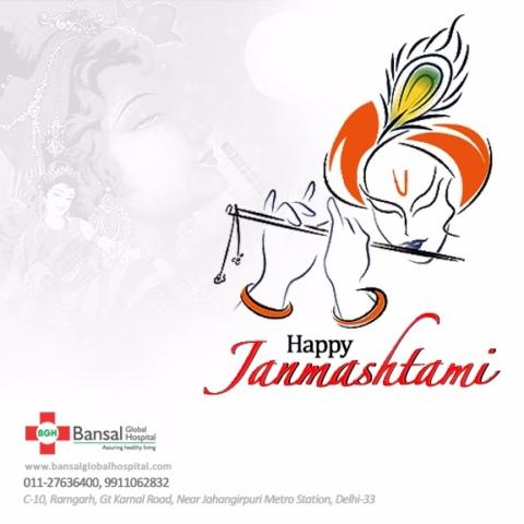 Happy Janmashtami Bansal Global Hospital