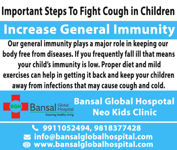 Child Specialist in Shalimar Bagh Cough