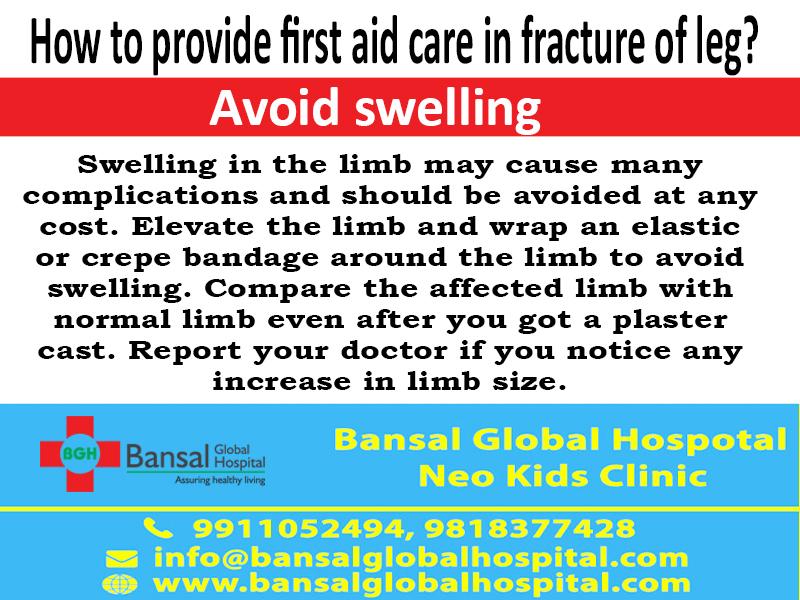 Fracture Of leg Bansal Global Hospital