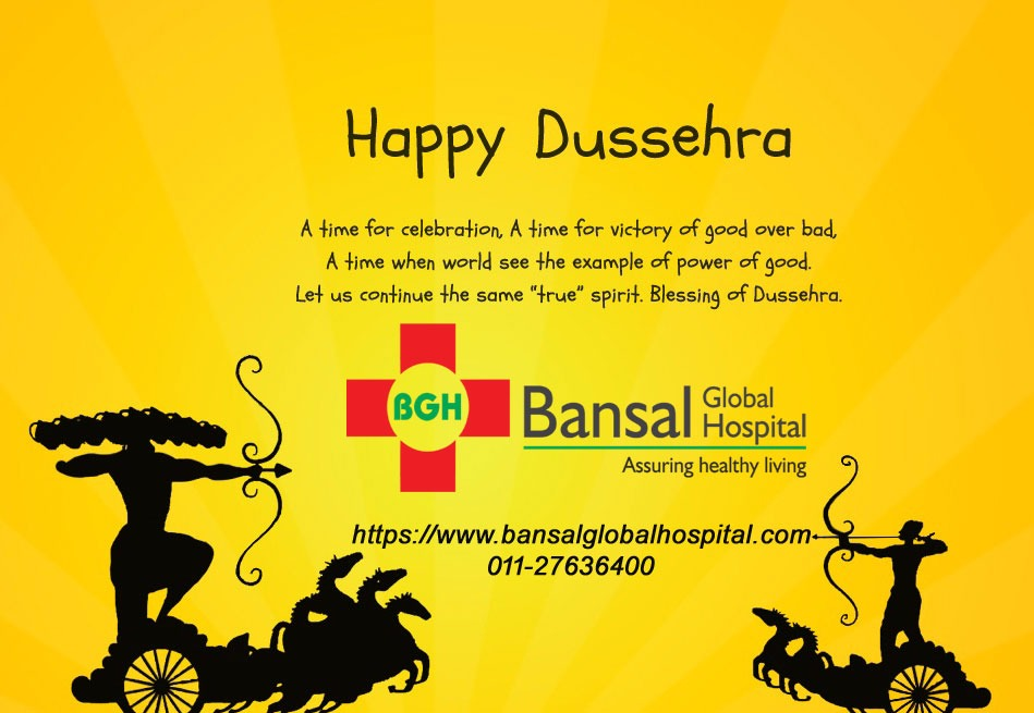 Happy Dussehra Bansal Global Hospital