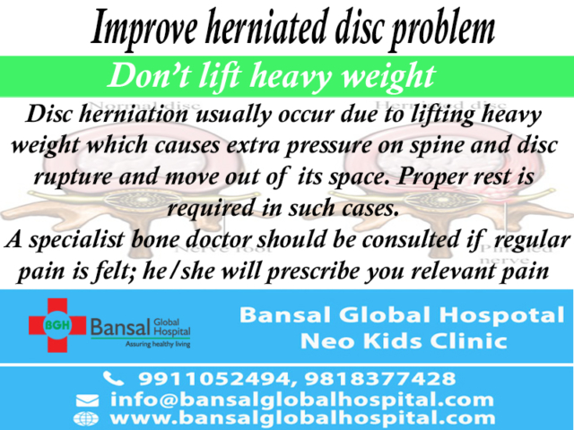 Herniated Disc Problem