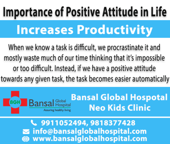 Importance of positive attitude in life