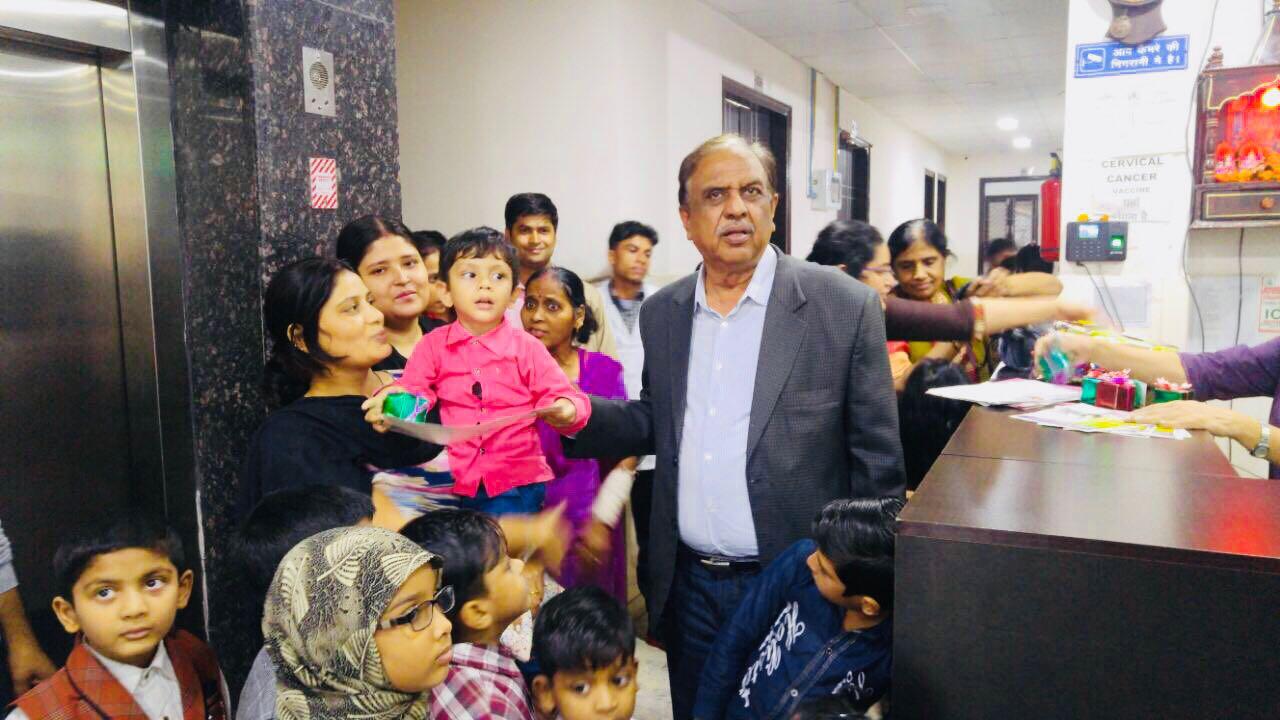 Children's Day celebration at Bansal Global Hospital in NCR