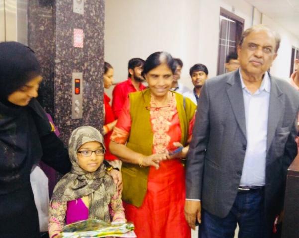 Children's Day celebration at Bansal Global Hospital in Shalimar bagh