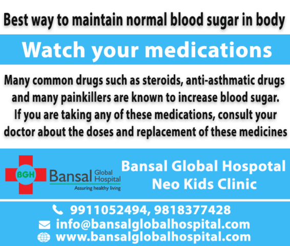 best way to maintain normal blood sugar