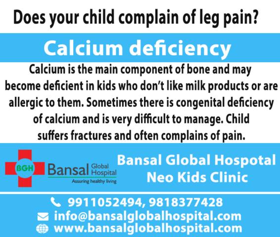 Bansal Global Hospital Calcium deficiency