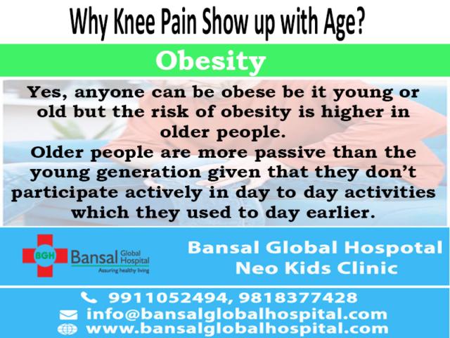 Bansal Global Hospital in NCR Knee Pain