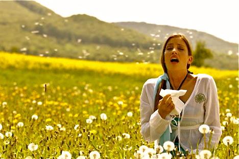 Symptoms of Pollen Allergies